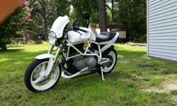 02 Buell X1 White Lightning, VERY CLEAN