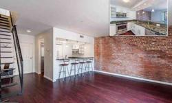 1000 Fell St #601 Baltimore One BR, cutting edge 2 level