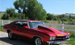 $100,000 Used 1970 Chevrolet Chevelle Custom Coupe, 12 miles