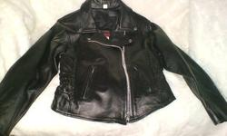 $100 2 Very nice Leather Riding jackets.