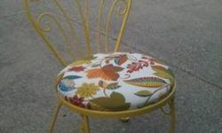 $100 4 Vintage Metal Chairs - Dining or Outdoor
