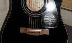$100 Brand New Fender CD60ce BL (Case Included)