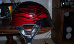 $100 Brand new genuine Harley Davidson Helmet-Black w/Red