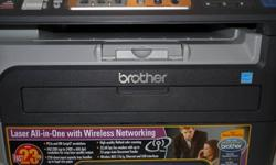 $100 Brother Laser-Fax-Copier-Printer-Scanner