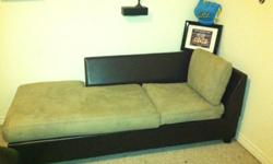 $100 Brown Chaise for Pick-up ONLY