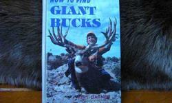 $100 How to Find Giant Bucks by Kirt Darner, 1st Ed
