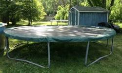 $100 Huge 15' Trampoline (No enclosure)