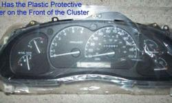 $100 Instrument Cluster Xl2f10849ab Ford Explorer