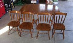 $100 Kitchen table & chairs