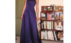$100 OBO Size 2 strapless bridesmaid dress....Dessy