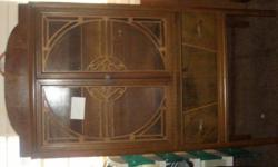 $100 old china cabinet (danville)