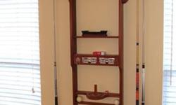 $100 Pool Room Wall Rack...