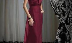 $100 PRACTICALLY NEW***Dessy Bridesmaid Dress Style 2732