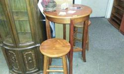 $100 Pub Table With Stools