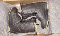 $100 Salomon men's 9.5 F20 snowboard boots