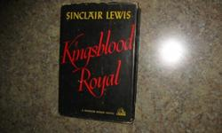 "$100 Sinclair Lewis' ""Kingsblood Royal,"" First Edition First"