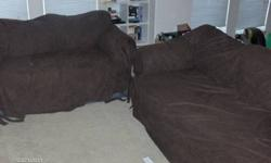 $100 Sofa and love seat set