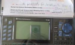 $100 TI-92 Graphing Calculator -