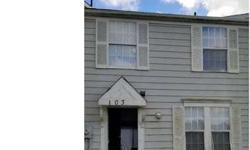 103 Villa Knoll CT Sicklerville, Three BR townhouse in