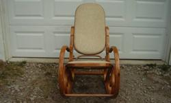 $109 Rocker and rocking foot stool free delivery