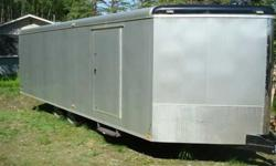 $10,000 2011 8.5x26 Cargomate snowmobile trailer