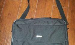 $10 $10 Laptop Computer Bag Case With Strap Nylon Excellent