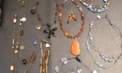 $10 17PC Jewelry Lot+Murano Bracelets Brand New!