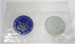 $10 1971 Blue Pack Eisenhower Uncirculated Silver Dollar