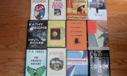 $10 23 Hardcover Novel Book Collection Lot USED HB Excellent