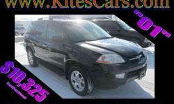 $10,325 Used 2001 Acura MDX Touring w/ Nav System, 117,965