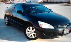 $10,400 Honda accord EX V6 2005 black w black leather