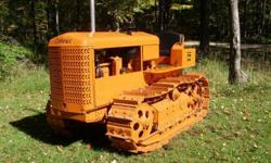 $10,500 1948 Cletrac BGS Tractor