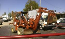 $10,500 1993 Ditch Witch 5110 Trencher/ Backhoe Tractor For
