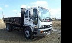 $10,500 2001 Gmc T6500 16' Stakebed Dump