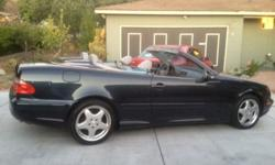 $10,500 Convertible CLK 430 Mercedes low mileage clean title