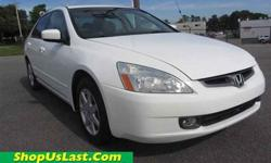 $10,903 2003 Honda Accord Sdn EX