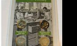 $10 American Dimes of the 20th Century Coin Set