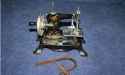 $10 Antique Toy Sewing Machine Made in Germany