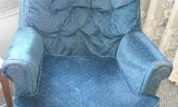 $10 Blue Swivel Rocker