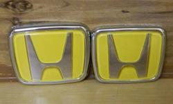 $10 Brand New-Yellow Honda Emblems!!!