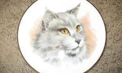 $10 Collectable Cat Plate