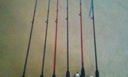 $10 fishing rods and reels - NEW (Edmond, OK)