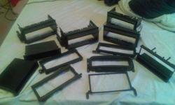 $10 Lots Of Radio Mount Brackets And Wire Harnesses