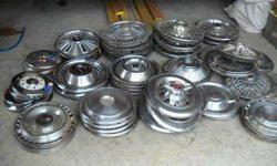 $10 Many Old Classic Car Parts & Hub Caps