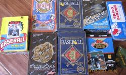 $10 New boxes of Baseball Cards