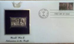 $10 Postal Commemorative Society 22K Gold Stamp (WWII Subs