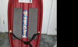 $10 Snow Sled NEW Mad River Rocket Extreme Sledding
