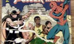 $10 Spider-Man Storm and Power Man Battle Smokescreen Comic