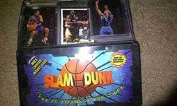 $10 tin of basketball cards (norman)