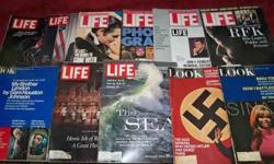 $10 Vintage Life ,Look, magazines & others two many to list